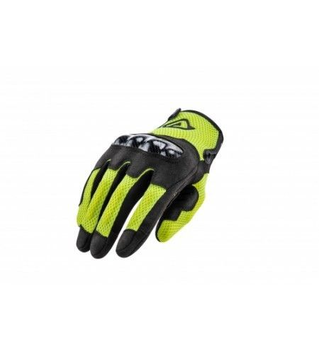 ACERBIS GLOVES CE RAMSEY MY VENTED Guante Negro Amarillo