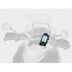 Soporte Interphone Cellularline IPHONE 4 Plata Manillar Tubular