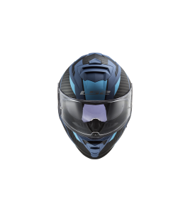 LS2 FF800 STORM RACER Azul Titanio