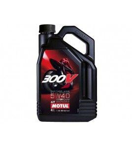 MOTUL Aceite 300V FL ROAD RACING 5W40 4 litros